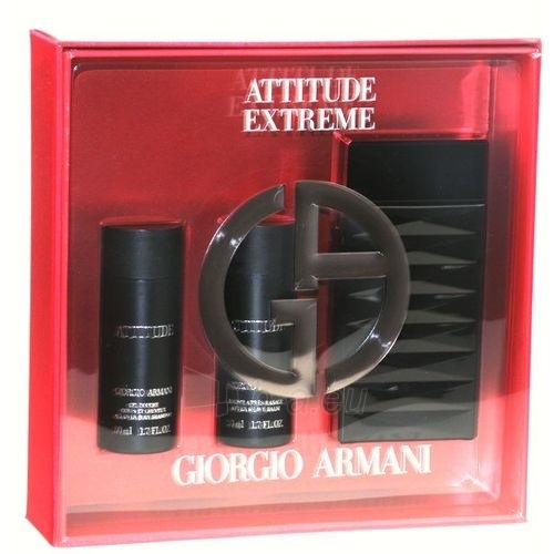 Tualetes ūdens Giorgio Armani Attitude Extreme EDT 75ml (komplekts) Paveikslėlis 1 iš 1 250812003771