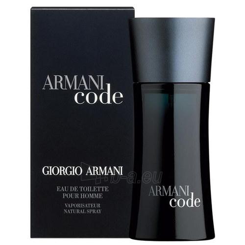Tualetes ūdens Giorgio Armani Black Code EDT 100ml (Refillable) Paveikslėlis 1 iš 1 250812003772