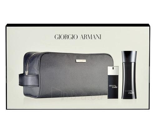 Tualetinis vanduo Giorgio Armani Black Code EDT 75ml (rinkinys 1) Paveikslėlis 1 iš 1 250812003777