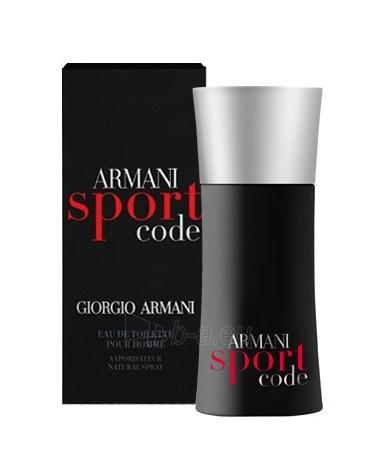 Tualetes ūdens Giorgio Armani Code Sport EDT 4ml Paveikslėlis 1 iš 1 250812002325