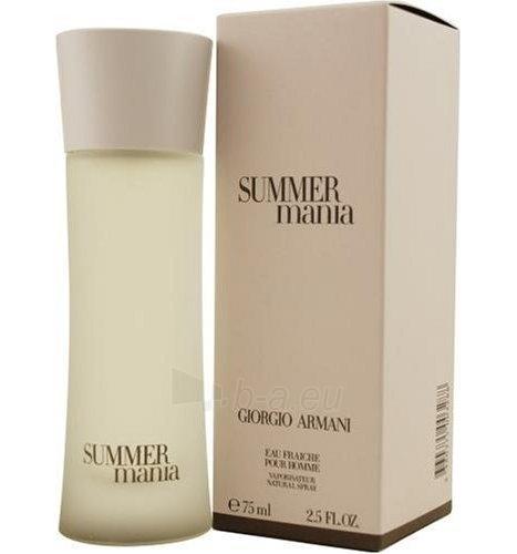 Tualetinis vanduo Giorgio Armani Mania Summer EDT 75ml Paveikslėlis 1 iš 1 250812002354