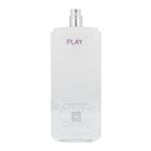Tualetes ūdens Givenchy Play for Her EDT 75ml (testeris) Paveikslėlis 1 iš 1 310820010296