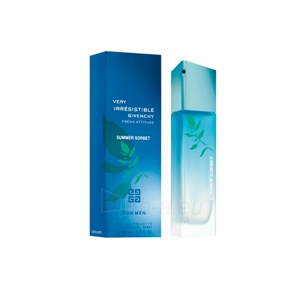 Tualetinis vanduo Givenchy Very Irresistible Fresh Attitude Summer Sorbet EDT 100ml Paveikslėlis 1 iš 1 250812002400