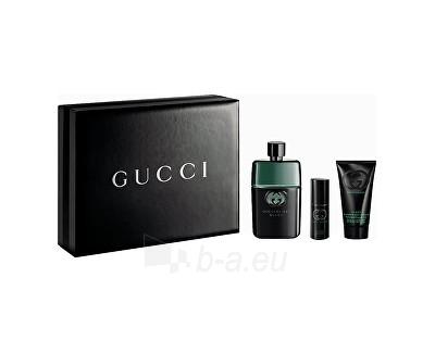 Perfumed water Gucci Guilty Black EDT 90 ml + EDT 8 ml + šampón 50 ml (Set) Paveikslėlis 1 iš 1 310820093759