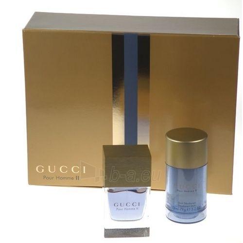 Tualetes ūdens Gucci Pour Homme II. EDT 50ml (komplekts) Paveikslėlis 1 iš 1 250812003829