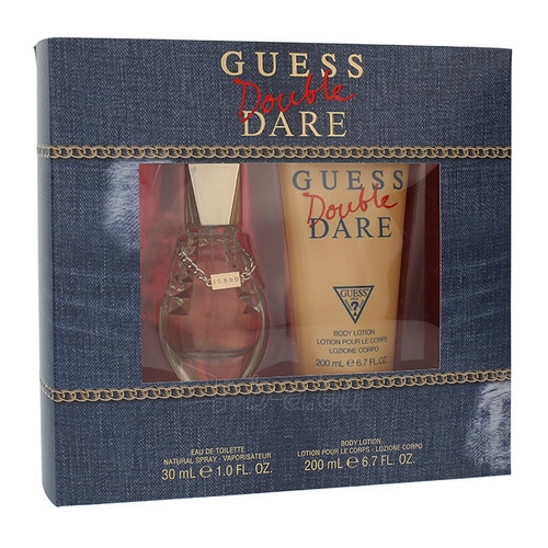Perfumed water Guess Double Dare EDT 30ml (Set) Paveikslėlis 1 iš 1 310820041306