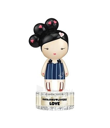 Tualetinis vanduo Gwen Stefani Harajuku Lovers Love EDT 100ml (testeris) Paveikslėlis 1 iš 1 250811005949