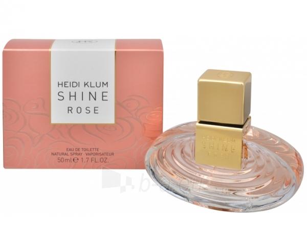Tualetes ūdens Heidi Klum Shine Rose EDT 50ml Paveikslėlis 1 iš 1 250811010605