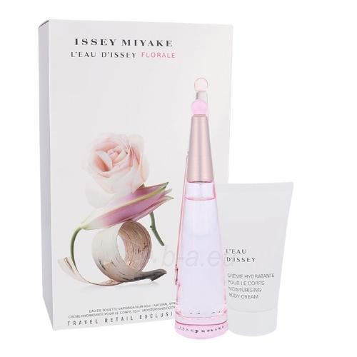 Perfumed water Issey Miyake L´Eau D´Issey Florale EDT 90ml (Set 1) Paveikslėlis 1 iš 1 310820042517