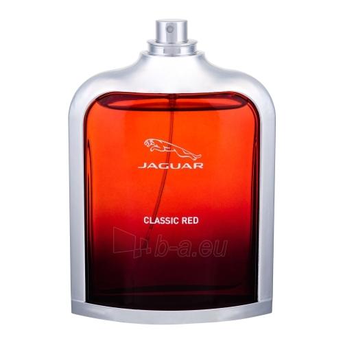 Tualetes ūdens Jaguar Classic Red EDT 100ml (testeris) Paveikslėlis 1 iš 1 310820012442