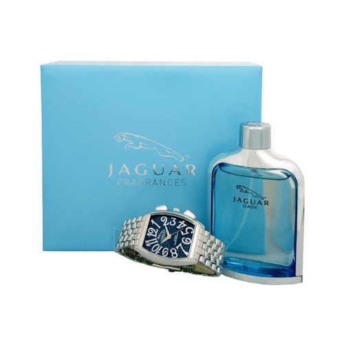 Tualetes ūdens Jaguar New Classic EDT 75ml + Jaguar watch (komplekts) Paveikslėlis 1 iš 1 250812003940