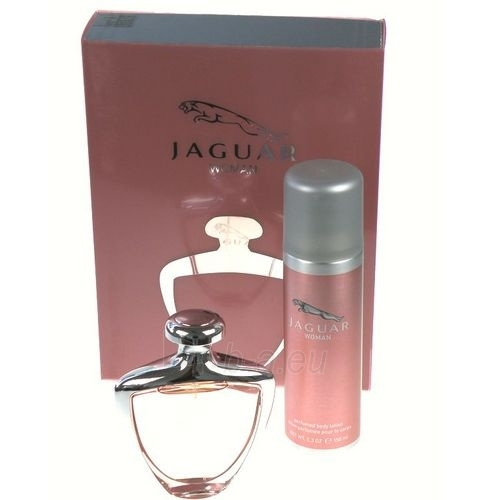 Tualetinis vanduo Jaguar Woman EDT 75ml (rinkinys) Paveikslėlis 1 iš 1 250811008977