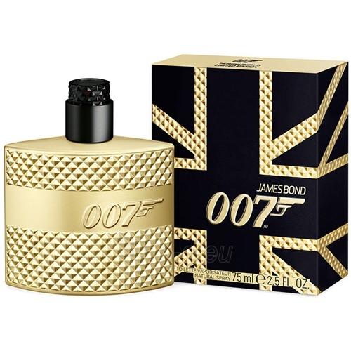 Tualetes ūdens James Bond James Bond 007 Gold Limited Edition EDT 50 ml Paveikslėlis 1 iš 1 310820022493