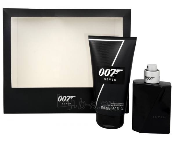 Tualetes ūdens James Bond James Bond 007 Seven EDT 50 ml (Rinkinys) Paveikslėlis 1 iš 1 2508120002887