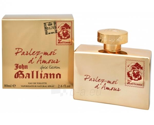 Tualetinis vanduo John Galliano Parlez-Moi d´Amour Gold Edition EDT 80ml Paveikslėlis 1 iš 1 250811010390