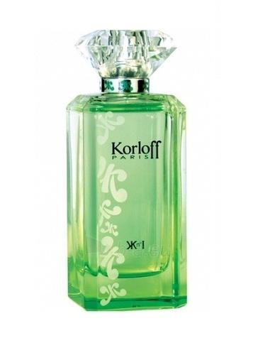 Tualetes ūdens Korloff Paris N° I Green Diamond EDT 88ml Paveikslėlis 1 iš 1 250811009490