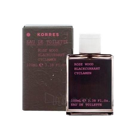 Tualetes ūdens Korres Fragrance Women Rose Wood EDT 100ml Paveikslėlis 1 iš 1 250811009889