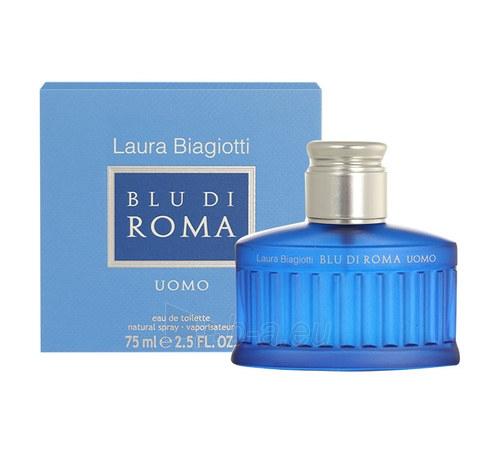 Tualetinis vanduo Laura Biagiotti Blu di Roma Uomo EDT 75ml Paveikslėlis 1 iš 1 310820023722