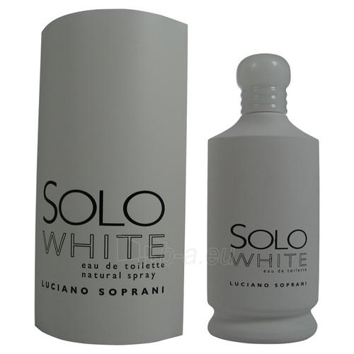 Luciano Soprani Solo White EDT 100ml Paveikslėlis 1 iš 1 250811006442
