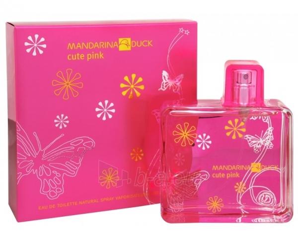 Tualetinis vanduo Mandarina Duck Cute Pink EDT 100ml Paveikslėlis 1 iš 1 250811006444