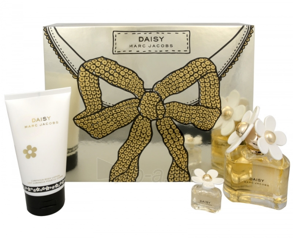 Perfumed water Marc Jacobs Daisy EDT 100 ml (Set 3) Paveikslėlis 1 iš 1 310820022495