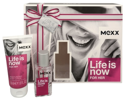 Perfumed water Mexx Life Is Now For Her EDT 15 ml (Set) Paveikslėlis 1 iš 1 250811014837
