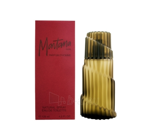 Tualetinis vanduo Montana Parfum d´Homme EDT 125ml Paveikslėlis 1 iš 1 250811006546