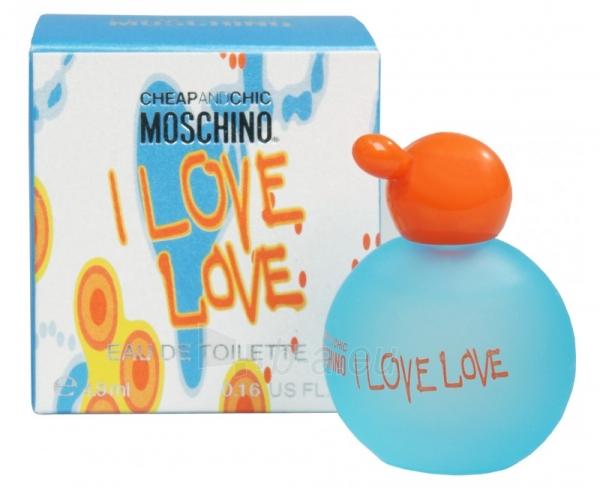 Perfumed water Moschino Cheap & Chic I Love Love 4.9 ml Paveikslėlis 1 iš 1 310820015647
