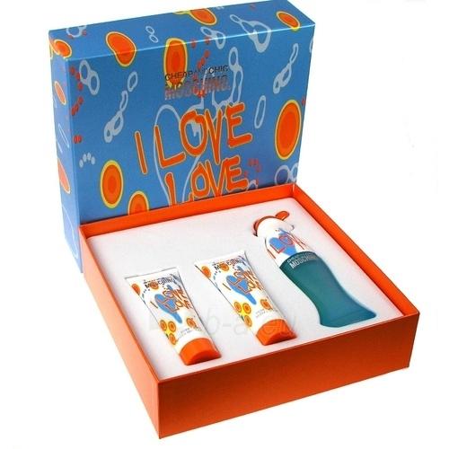 Tualetes ūdens Moschino I Love Love EDT 50ml (komplekts) Paveikslėlis 1 iš 1 250811009268