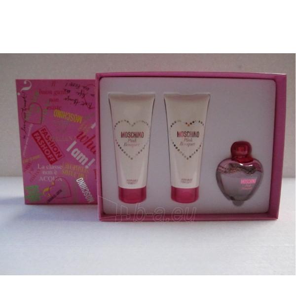 Tualetinis vanduo Moschino Pink Bouget EDT 50 ml (Rinkinys) Paveikslėlis 1 iš 1 310820008884