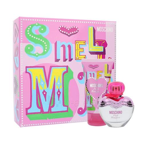 Tualetes ūdens Moschino Pink Bouquet EDT 30ml (Rinkinys 3) Paveikslėlis 1 iš 1 310820028911