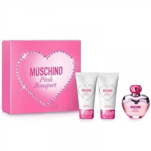 Tualetinis vanduo Moschino Pink Bouquet EDT 50ml (rinkinys) Paveikslėlis 1 iš 1 250811010583