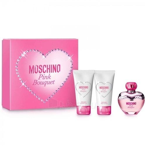 Tualetes ūdens Moschino Pink Bouquet EDT 50ml (komplekts) Paveikslėlis 1 iš 1 250811010583