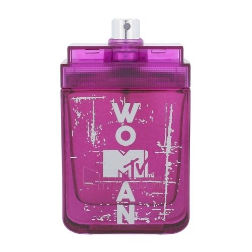 Tualetes ūdens MTV Perfumes MTV Woman EDT 50ml (testeris) Paveikslėlis 1 iš 1 310820045217