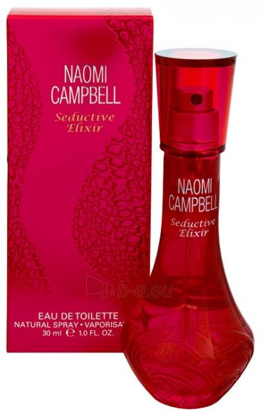 Tualetinis vanduo Naomi Campbell Seductive Elixir EDT moterims 50ml Paveikslėlis 1 iš 1 250811000214