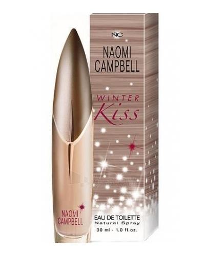 Tualetes ūdens Naomi Campbell Winter Kiss EDT 30ml Paveikslėlis 1 iš 1 250811006635