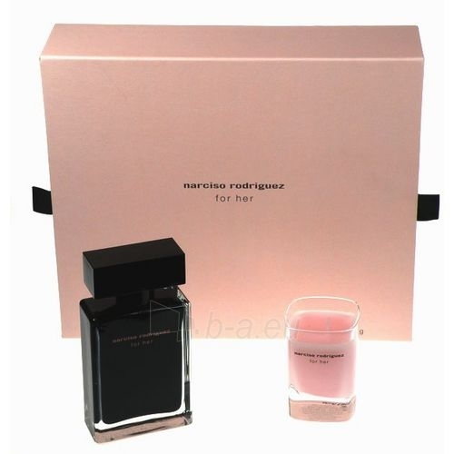 Narciso Rodriguez For Her EDT 50ml (set) Paveikslėlis 1 iš 1 250811010138