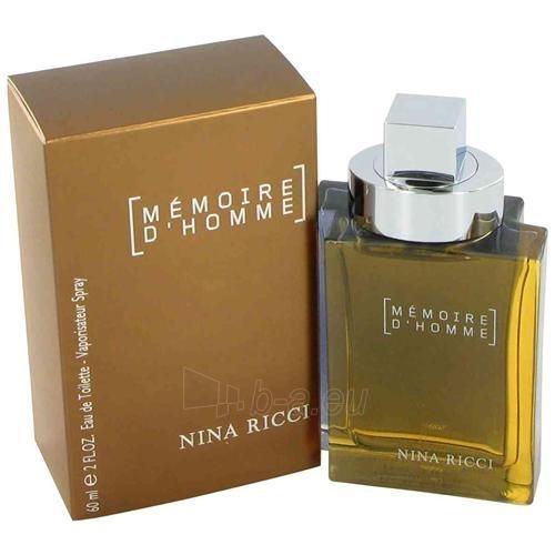 Nina Ricci Mémoire d´Homme EDT 100ml Paveikslėlis 1 iš 1 250812003001