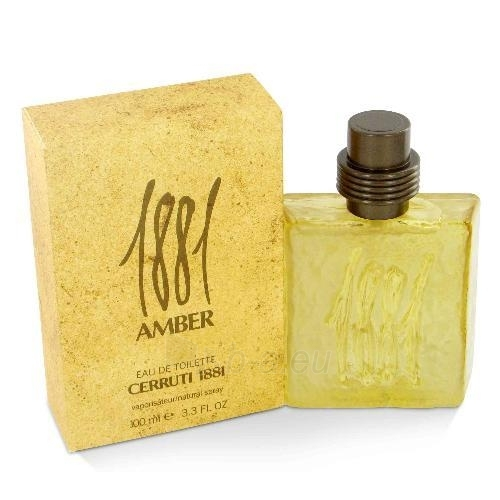 Tualetes ūdens Nino Cerruti Cerruti 1881 Amber EDT 50ml Paveikslėlis 1 iš 1 250812003006