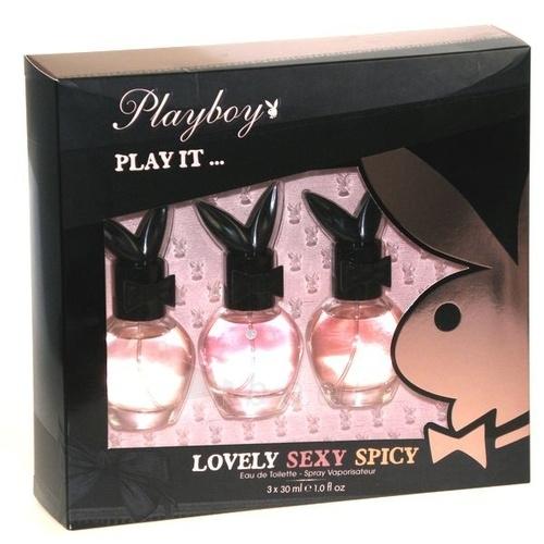 Tualetinis vanduo Playboy Play It ... EDT 3x30ml Paveikslėlis 1 iš 1 250811006766