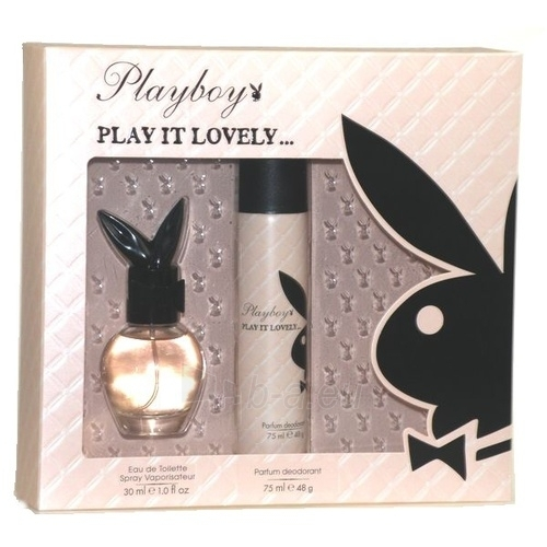 Tualetes ūdens Playboy Play It Lovely EDT 30ml Paveikslėlis 1 iš 1 250811006767