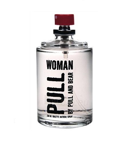 Tualetes ūdens Pull&Bear Pull Woman EDT 100ml (testeris) Paveikslėlis 1 iš 1 250811006780