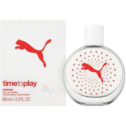 Tualetinis vanduo Puma Time to Play Woman EDT 90ml Paveikslėlis 1 iš 1 250811013157