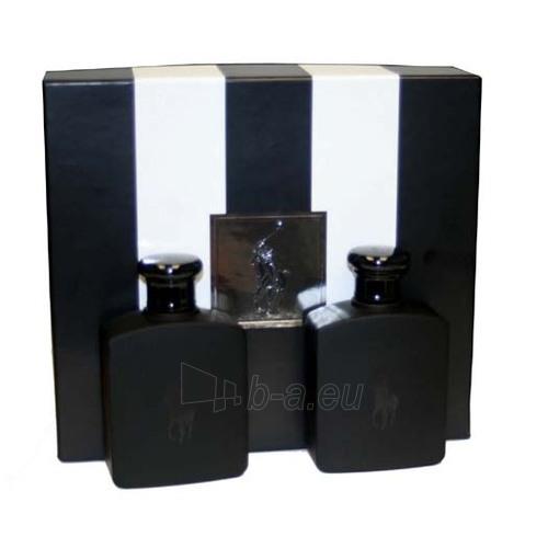 Tualetinis vanduo Ralph Lauren Polo Double Black EDT 125ml (rinkinys) Paveikslėlis 1 iš 1 250812004105