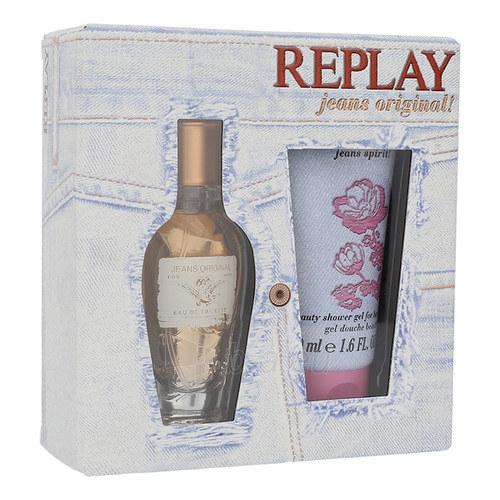 Tualetinis vanduo Replay Jeans Original EDT 20ml (Rinkinys 3) Paveikslėlis 1 iš 1 310820028910