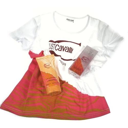Tualetes ūdens Roberto Cavalli Just Her EDT 60mll + T-shirt Paveikslėlis 1 iš 1 250811008769