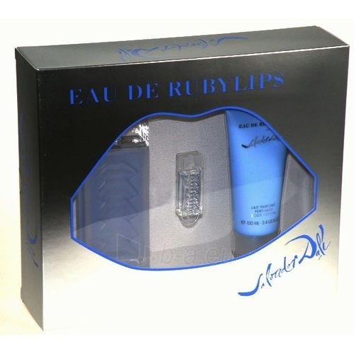 Salvador Dali Eau de Ruby Lips EDT 100ml (set) Paveikslėlis 1 iš 1 250811010143