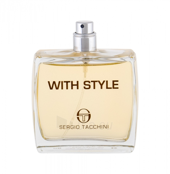Tualetinis vanduo Sergio Tacchini With Style Eau de Toilette 100ml (testeris) Paveikslėlis 1 iš 1 310820184935