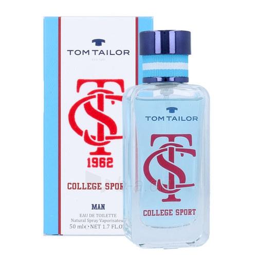 eau de toilette Tom Tailor College Sport EDT 50ml Paveikslėlis 1 iš 1 310820028885