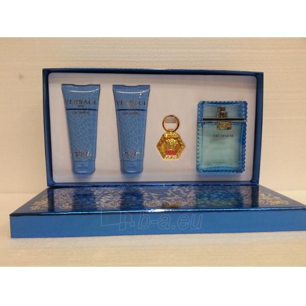 Tualetinis vanduo Versace Man Eau Fraiche EDT 100ml (Rinkinys 7) Paveikslėlis 1 iš 1 310820012313